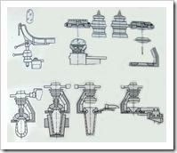 схема технологического получения стеклоизделий на автомате ВР-24