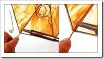 абажур из стекла