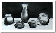 вазы для интерьера из стекла