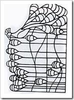открытка с павлином