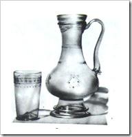 Кувшин и стакан. Венеция, первая половина XVI в. н.э.