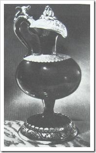 Кувшин, рубиновое стекло. 1700 год