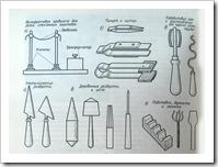 инструменты для стеклодувных работ
