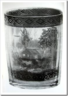 стакан мастера А.Вершинина. стекло.