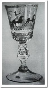 бокал русского стекла